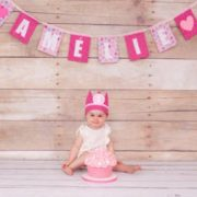 Cake smash shoot meisje