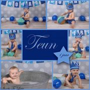 Cake smash shoot jongen