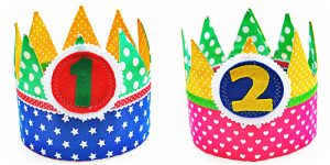 Verjaardagskroon dubbelzijdig