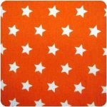stof kleur oranje