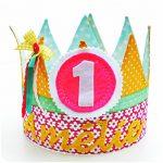 verjaardagskroon naamkroon, feestmuts